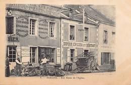Andouillé - Rue Basse De L'Eglise - Dufour Epicier, Saboterie, Charcuterie... - Autres Communes