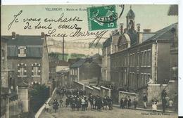 VILLERUPT - Mairie Et écoles - Autres Communes