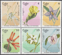 CUBA 1980, FLOWERS, COMPLETE MNH SET, GOOD QUALITY, *** - Nuovi