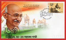 Indonesia 2019 FDC Mahatma Gandhi Of India 150th Birth Anniversary - Indonesien