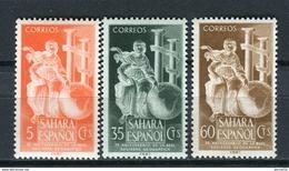 Sahara 1953 Edifil 101-103 ** MNH. - Sahara Spagnolo