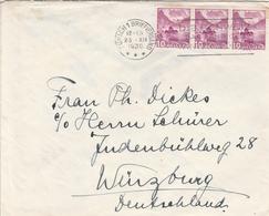 Suisse Lettre Censurée Pour L'Allemagne 1939 - Postmark Collection