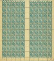 Tunisie 1945 - Timbres Neufs (MNH). Yvert Nr.: 276 - Feuille De 100 Timbres..... (VG) DC5360 - Tunisie (1888-1955)
