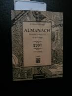 Le Grand Double Almanach Franco-belge Dit De Liège 2001 (Casterman) - Calendars