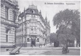 AK-7999-D  Saarbrücken - St. Johann - Kaiserstrasse  -  Hotel Zum Schwan - Saarbrücken