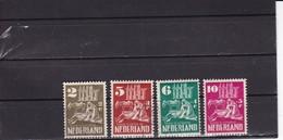 Nederland 1950: NVPH Nr 556 Tot 560 - Y&T Nr 542 Tot 546 Used - Used Stamps