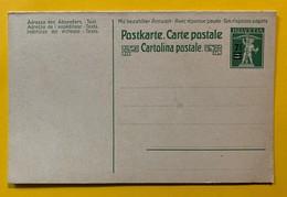 9757 -  Carte Réponse  7 1/2 Sur 5 Fils De Tell Neuf - Interi Postali