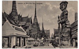 Thailand Siam Wat Pra Keo Bangkok - Thaïlande