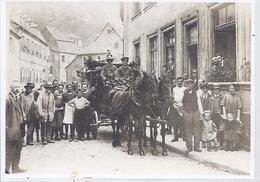 AK-7999-D  - Blieskastel - Letzte Postfahrt Mit Pferden Im Jahre 1921 - Saarpfalz-Kreis