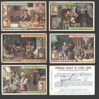 Liebig - Vintage Chromos - Series Of 6 / Série Complète - L'Art Dans L'industrie Des Métaux - En Français - Liebig