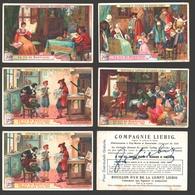 Liebig - Vintage Chromos - Series Of 6 / Série Complète - La Vie De Rembrandt - En Français - Liebig