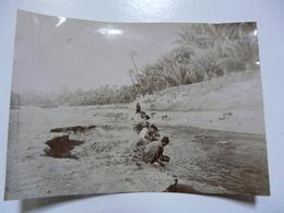PHOTO ANCIENNE - TUNISIE : Gabès - Oasis (scène Animée) - Africa