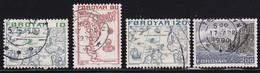Faroe Islands 1975, 4 Stamps Vfu - Féroé (Iles)