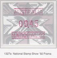 """AUSTRALIA 1992 FRAMA  """"National 92"""" MNH - Vignettes D'affranchissement (ATM/Frama)"""