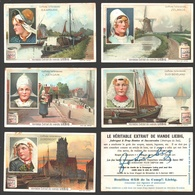 Liebig - Vintage Chromos - Series Of 6 / Série Complète - Coiffures Hollandaises - En Français - Nederland - Liebig