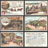Liebig - Vintage Chromos - Series Of 6 / Série Complète - En Suède - En Français - Sverige - Liebig