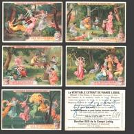 Liebig - Vintage Chromos - Series Of 6 / Série Complète - Les Sylphides - En Français - Liebig