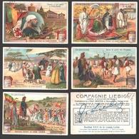 Liebig - Vintage Chromos - Series Of 6 / Série Complète - En Abyssinie - En Français - Liebig