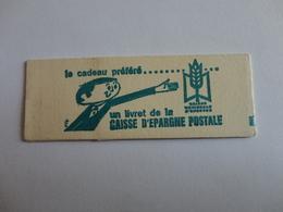TIMBRE DE FRANCE CARNET PALISSY BISTRE - Carnets