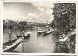 Y4915 Schaffhausen - Rheinquai - Barche Boats Bateaux / Viaggiata 1955 - SH Schaffhouse