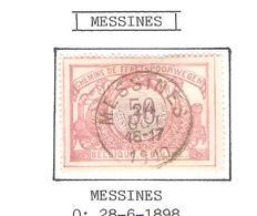REF185/ CF 35 C.Messines 24/oct/ 16-17 / 1910 - Chemins De Fer