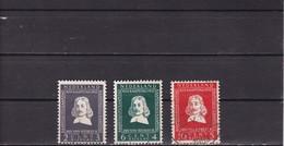Netherlands Pays Bas NEDERLAND - 1952 NVPH 578-580 Used - Period 1949-1980 (Juliana)