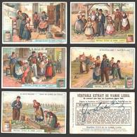 Liebig - Vintage Chromos - Series Of 6 / Série Complète - La Vieille Hollande - En Français - Nederland - Liebig