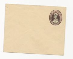 Burma -Japanese Occupation 1anna Postal Staionery Envelope Overprionted Withy Peacock - Unused. - Burma (...-1947)