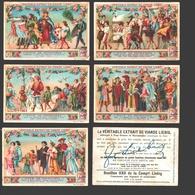 Liebig - Vintage Chromos - Series Of 6 / Série Complète - Noce De Patriciens - En Français - Liebig