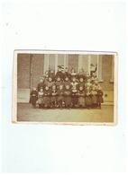 PHOTO ECOLE COMMUNALE DE FURNES (BELGIQUE ) 1907 - Personnes Identifiées