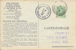 Baar Le Duc Baarle Hertog  War Guerre 1914/1918 Sainte Adresse - Zona No Ocupada