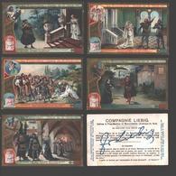 Liebig - Vintage Chromos - Series Of 6 / Série Complète - Le Trouvère - Opéra De G. Verdi - En Français - La Traviata - Liebig