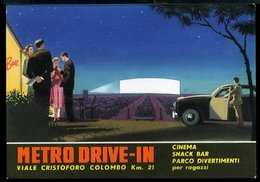 RB189 ROMA - METRO DRIVE-IN , VIALE CRISTOFORO COLOMBO Km 21, CINEMA BAR PARCO DIVERTIMENTI - Bars, Hotels & Restaurants