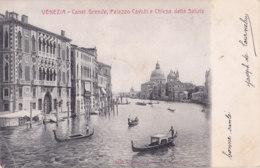 Venezia (Italie) - Canal Grande - Palazzo Cavalli E Chiesa Della Salute - Venezia (Venice)