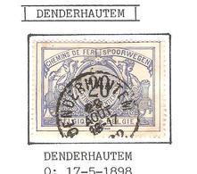 REF187/ CF 17 C. Denderhautem 22 Aout 16-17 - Chemins De Fer