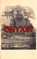Carte Postale Photo Militaire GAMBSHEIM Sinistré (67-Bas-Rhin) Vue Maison Détruite 2 ème Guerre RARE - Gambsheim
