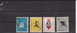 Netherlands Pays Bas NEDERLAND - 1NVPH Nr 676/679  Used - Usati