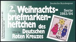 DRK/Weihnachten 1983/84 Sternsinger 80 Pf, 6x1196, 2.MH ESSt Bonn - BRD