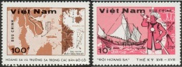 Vietnam Viet Nam MNH Perf Stamps 1988 : Paracel & Spratly Archipelagos / China Has Invaded Some Of Them (Ms536) - Vietnam