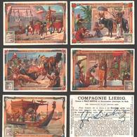 Liebig - Vintage Chromos - Series Of 6 / Série Complète - Au Pays Des Pharaons - En Français - Liebig