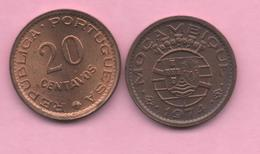 MOZAMBIQUE  # 20 Centavos 1974 KM88 - Mozambique