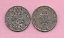MOZAMBIQUE # 2 1/2 Escudos 1953  KM78 - Mozambique