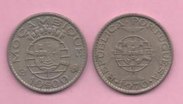 MOZAMBIQUE # 10 Escudos 1970 KM79b - Mozambique
