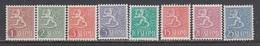 Finland 1954 - Wappenloewe, Mi-Nr. 425/32, MNH** - Finland