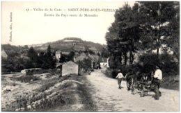 89 SAINT-PERE-sous-VEZELAY - Entrée Du Pays Route De Menades - Other Municipalities