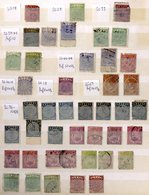 BRITISH COMMONWEALTH Duplicated Ranges Of M & U In Eleven Stock Books From British PO's Abroad, British Honduras, Basuto - Timbres