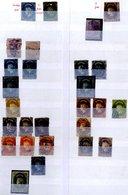 CEYLON 1857-1960's Duplicated Range In Two Stock Books & Album Leaves, Some Pmk Interest, Odd PPC, Few Edwardian Postal  - Timbres