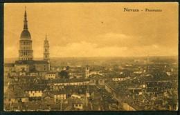 NOVARA - Panorama - Viaggiata 1911 - Rif. Mn0073 - Novara