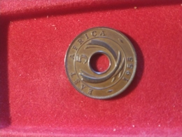 East Africa 5 Cent  1955 - Colonies
