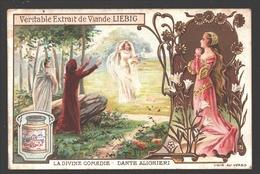 La Divine Comédie - Dante Alighieri - Liebig - Vintage Chromo - Signed Liebig On The Back - Liebig